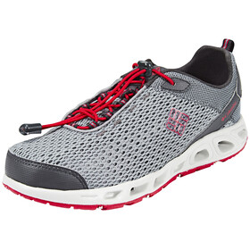 Columbia Drainmaker III Shoes Youths grey ash/mountain red